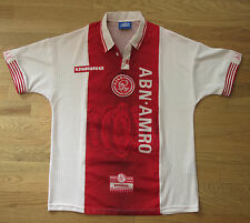 1997-1998 Ajax Amsterdam Home Short Sleeve (SS) Jersey Size L
