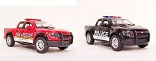 '13 Ford F-150 Raptor Supercrew POLICE & FIRE RESCUE Diecast Model 1/46 PullBack