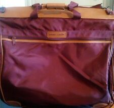 PIERRE CARDIN Designer Dark Red Maroon Garment BAG