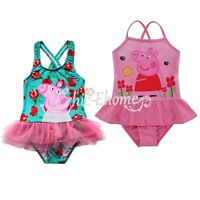 Girl Kid Cute Tankini Swimwear Bikini Swimsuit Swimming Bathing Costume Age 1-6Y