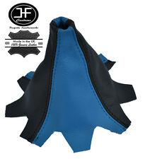 Blau Schwarz Leder Schaltmanschette passen VW T5 MULTIVAN CARAVELLE Schaltsack