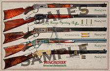 "Winchester Long Range Rifles Poster 11"" x 17"""