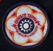TRACK AND FIELD FEDERATION OF THE CHINESE TAIPEI SMALL PATCH BRAND NEW