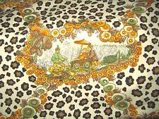 """Brunschwig and Fils """"CHINESE LEOPARD"""" Chinoiserie Vintage 3 YARDS  Fabric"""