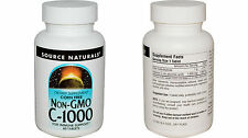 2 x Source Naturals, Non-GMO C-1000, 60 Tablets Vitamin C Cheap Sale!!
