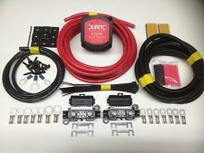 3mtr Split Charge Relay Kit 12v 140amp Durite Intelligent Voltage Sense Relay