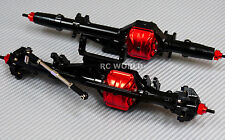 AXIAL WRAITH Scorpion Poison Metal AXLES Front + Rear RC Rock Racer AXLES BLACK