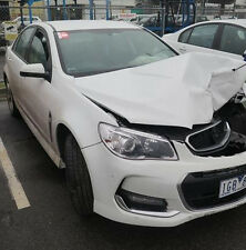 WRECKING 2015 VF SV6 SEDAN SERIES 2 25,000 KMS WHITE LFX HOLDEN COMMODORE 1 NUT