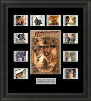 INDIANA JONES AND THE LAST CRUSADE MOUNTED FRAMED 35MM FILM CELL