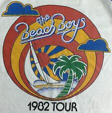 True Vintage 1982 Beach Boys Concert Tour Long Sleeve Semi-Wasted T-Shirt S/M