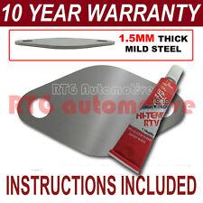 PEUGEOT 406 607 2.2 HDI diesel egr plaque Blanc 1,5 mm d'épaisseur acier ND sealant