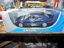 1:18 Anson Mercedes Benz C Class Sedan BLUE NEW diecast car model