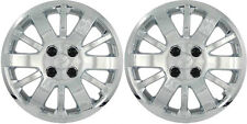 "(2) 2010 CHEVY COBALT 15"" CHROME HUBCAPS / WHEEL COVERS 453-15"""
