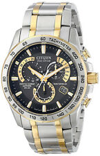 Citizen AT4004-52E Two Tone Stainless Steel Perpetual Calendar Chrono Eco Drive