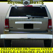 2005 2006 2007 2008 2009 2010 GRAND CHEROKEE Triple Chrome Tailgate Handle COVER