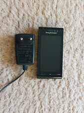 Sony Ericsson Satio U1i Schwarz Black Noir Nero Simlock Handy Mobile Cell Phone
