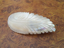 Mother Of Pearls Hair Clip Swirl Designed Hand Made Sea Shell (best quality )