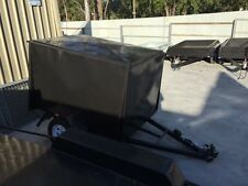 6x4 heavy duty single axle Van trailer Fully enclosed trailer