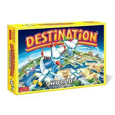 Destination World Edition Board Game Christmas Family Fun Present Kids Xmas Gift