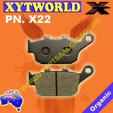 X23 Brake pads HONDA KYMCO TRIUMPH VICTORY SYM YAMAHA