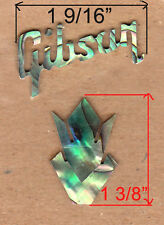 LOGO HEADSTOCK INLAY IN PAUA ABALONE 1.5mm thickness