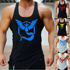 Pokemon Go Team Valor Team Mystic Team Instinct Pokeball Vest Tops T-shirt