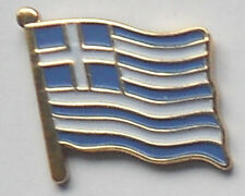 Greece Greek Country Flag Enamel Pin Badge