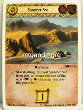 A Game of Thrones LCG - 1x Summer Sea #T134 - Ice and Fire Draft Starter