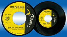 Philippines SNOOKY AND ALBERT MARTINEZ Bata Pa Si Sabel OPM 45 rpm Record