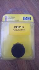 IMO PB01C Black Push-Button Actuator.
