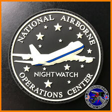 E-4B NIGHTWATCH NAOC National Airborne Operations Center PVC Patch, OFFUT AFB