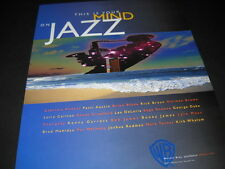 This Is Your Mind On JAZZ 2001 Promo Poster Ad RICK BRAUN George Duke BOB JAMES