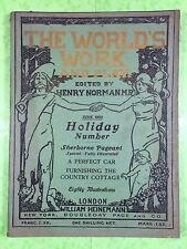 THE WORLD'S WORK & PLAY - Edwardian Shilling Monthly - June 1905 - Henry Norman