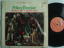 RICARDO REY y BOBBY CRUZ Felices Pascuas LATIN LP Shrink VAYA