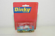 DINKY TOYS MATCHBOX PONTIAC FIREBIRD SE BLUE RALLY MINT BOXED RARE SELTEN