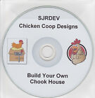 Chicken Coop Hen House Plans CD Run Fowl Turkey Poultry Self Sufficiency Tractor