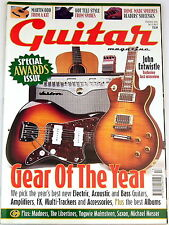 GUITAR Magazine December 2002 Gear of the year Vintage Gretsch Martin Saxon