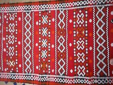 Traditional Moroccan Carpet Rug Patterned Kilim Berber Boho Ethnic Wool Runner