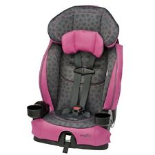 EVENFLO PINK HARNESSED CAR BOOSTER SEAT 22-110 Pounds Baby Toddler Child Girl