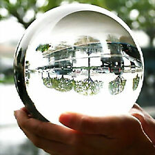 100MM + STAND HUGE ASIAN QUARTZ CLEAR CRYSTAL BALL SPHERE~~