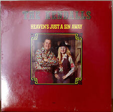THE KENDALLS: Heaven's Just a Sin Away-SEALED1976LP