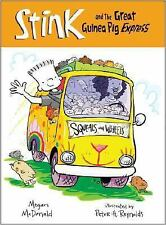 Stink and the Great Guinea Pig Express (Book #4) by McDonald, Megan, Good Book