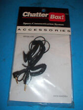 CHATTER BOX CBXUCAL Universal Call Extension Cord CBX UCALL X1 X2