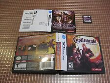 NDS CASTLEVANIA PORTRAIt OF RUIN USA NTSC COMPLETO NINTENDO DS 3DS