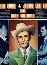 JERRY LEE LEWIS & JOHNNY CASH sing hank williams US EX LP SUN  REC