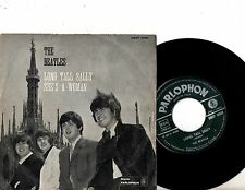 BEATLES 7' PS Long Tall Sally ITALY ONLY MEGA RARE QMSP 16381 GREEN LABEL 45