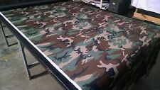 "Woodlands 1000D Outdoor Fabric 60""W Cordura Nylon Hunting Military Camouflage"