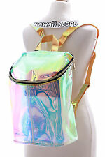 LB-49 Transparent Hologram Reflection Rucksack Cyber Lolita Harajuku Tasche