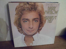 "LP 12 "" BARRY MANILOW - Greatest Hits - EX/MINT -NEUF - ARISTA 062-62030 HOLLAND"