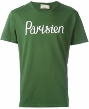 Brand New - Maison Kitsune Parisien Green T shirt Top - XL - BNWT